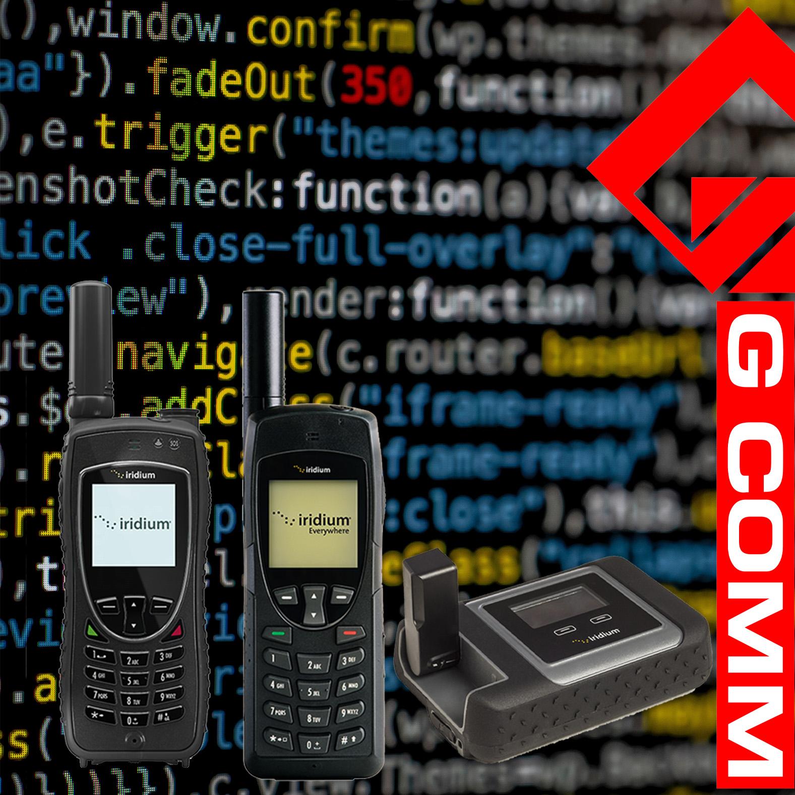 Iridium Firmware Updates
