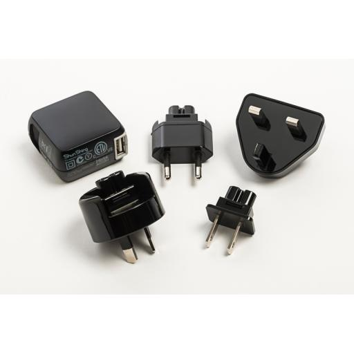 Iridium GO!™ AC Charger with International Adapters